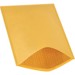10.5 X 16 Inch Kraft Bubble Mailers Padded Envelopes 5 Heat Seal 250 Pack