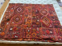 Turkish Oushak Anatolian Woven Rug Vintage Antique 5and0396 X 11and039 Feet Inches