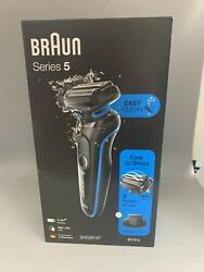 Braun Series 5 Easy Clean 5018s Wet Or Dry Electric Shaver Kit