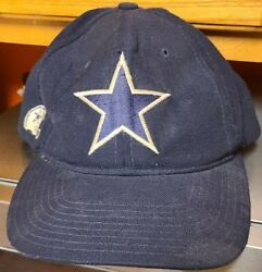 Vyg Dallas Cowboys Team Nfl Vintage American Needle Snapback Hat Patch Spellout