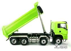 Rc Lesu 1/14 88 Hydraulic Man Painted Dumper Truck Painted Model Metal Chassis