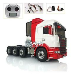 Lesu 1/14 Metal 88 Chassis Scania Rc Tractor Truck Sound Hercules Painted Cabin
