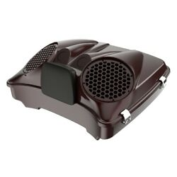 Twisted Cherry Dual 8and039and039 Speaker Lids Fits Advanblack/harley Razor Tour Pack Pak