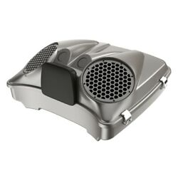 Pewter Pearl Dual 8and039and039 Speaker Lids Fits Advanblack/harley Razor Tour Pack Pak