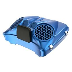 Electric Blue Dual 8and039and039 Speaker Lids Fits Advanblack/harley Razor Tour Pack Pak