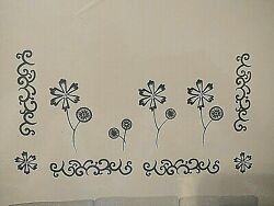 Brand New Wall Decals Stickers Art A Peel 4 Sheets 14quot; x 14quot; Black