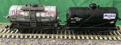 Esso And Mobil Weathered Tanks