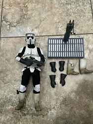 Sideshow Collectibles Star Wars Scout Trooper/biker Scout Loose
