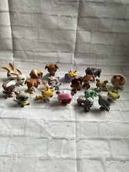 Littlest Pet Shop Vintage Lot 20 Total 11 Red Magnets Rare Cats And Dogs