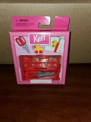 Barbie Ken Special Collection Tool Box Set Accessories 1998 Mattel 16 Scale