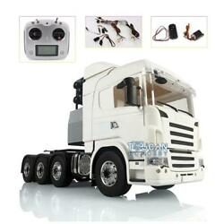 Lesu 1/14 Metal 88 Chassis Scania Rc Tractor Truck Sound Hercules Cabin Light