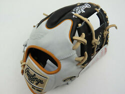 New Rawlings Heart Of The Hide Pror204w-2b Baseball Player Glove Size 11.5 Rht