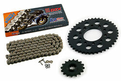 1998 Honda Vf750cd Magna Deluxe 750 Cz Dzx X Ring Chain And Sprocket Kit 16/42 120