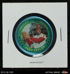 1971 Topps Coins 55 Tony Taylor Phillies 7 - Nm