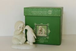 Retired Signed By Artist Dept 56 Snowbabies Your Secretand039s Safe With Me 2006