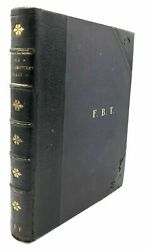 Large Bound Volume Of Inscribed Works By David Brewster Curiosities In Science