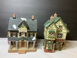 Vintage Dickens Christmas Collectables Victorian Series House Quilt Shop