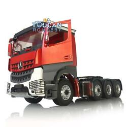 3speed Lesu Rc Metal 1/14 Chassis Motor Hercules Paint Benz Cabin Tractor Truck