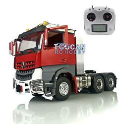 Rc 1/14 Metal 66 Lesu Tractor Truck Toolbox Chassis Radio Hercules Painted Cab
