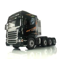 Rc 1/14 Lesu Metal 88 Chassis Scania R730 Tractor Truck Gripen Hercules Cabin