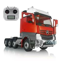 Lesu Rc 1/14 Metal Chassis Sound Hercules Actros 3363 Tractor Truck Radio Cabin