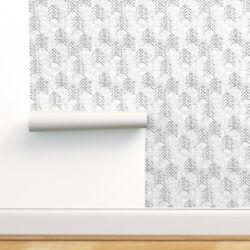 Peel-and-stick Removable Wallpaper Arrows Black And White Arrow Geometric