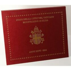2004 Vatican City Series Divisional In Euro Year Xxvi 8 Coins Fdc Mf60