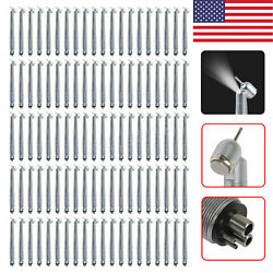 1-100 Dental 45anddegdegree Led Surgical High Speed Handpiece Turbine 4h Fit Kavo Yh