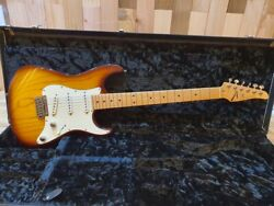 2016 Tom Anderson Drop Top Classic Swamp Ash Buzz Feiten Sss Electric Guitar