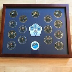 Chief Master Sergeants Of The Air Force 60th Anniversary Challenge Coins Display
