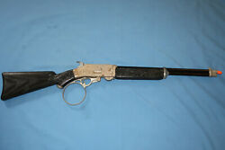 Vintage 1950's Hubley Scout Cap Rifle. Rifleman Style. Working.