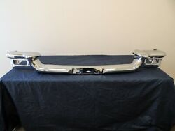 1957 Thunderbird Front Upper Ends And Lower Bumper Triple Plated Original