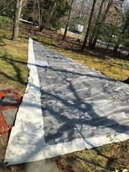Laminated Furling Jib Sail W/suncover From Candc 35 Mkiii
