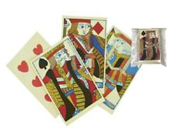 Antique Vintage Style Colonial Deck Of Playing Cards 18th 19th Century Style
