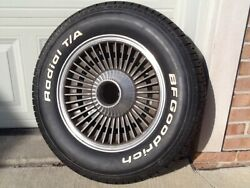 1963-4-5-6 Corvette Kelsey - Hayes Knock Off Wheel And Bf Goodrich Radial T/a Tire