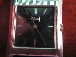 Genuine Vintage Piaget 18k White Solid Gold 18 Jewels Movement Thin Perfect