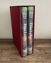 Fritz Leiber - Masters Of The Weird Tale - Centipede Press - Signed