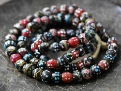 Excitedly Tonbodama Antique Venetian Fancy Mix Beads Series Long Approximately