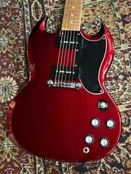Gibson With Video Choikiz Sg Special 2019 Vintage Sparkling Burgundy 133890216