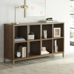 8 Cube Storage Organizer With Metal Base Display Office Home Decor Furniture New