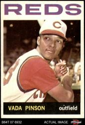 1964 Topps 80 Vada Pinson Reds 6.5 - Ex/mt+