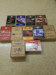 Wings Of Texaco 1-8, With Special Editions, Lot Of 11, Nrfb