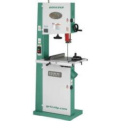 Grizzly G0513x2 17 2 Hp Bandsaw W/ Cast-iron Trunnion