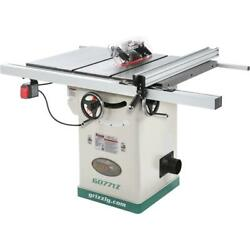 Grizzly G0771z 10 2 Hp 120v Hybrid Table Saw With T-shaped Fence