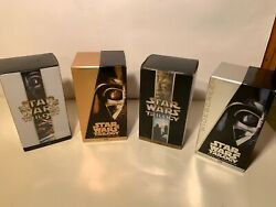 Star Wars Trilogy- 4 Box Sets Vhs 12 Videos-sci-fi Space Rare Movies