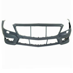 12-14 Benz Cls550 Wamg Package Front Bumper Cover Assembly Primed W/o Parktronic
