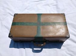 Exceptional Patina A Wwii Era American Red Cross Military Medic's Case Trunk