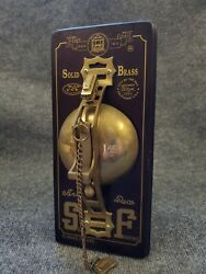 Vintage San Francisco Cable Car Solid Brass Trolley Bell