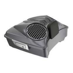 Smoke Gray Dual 8and039and039 Speaker Lids Fits Advanblack/harley Chopped Tour Pak Pack