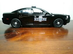 Kansas City Missouri Police 124 Scale Dodge Charger Police Car, New
